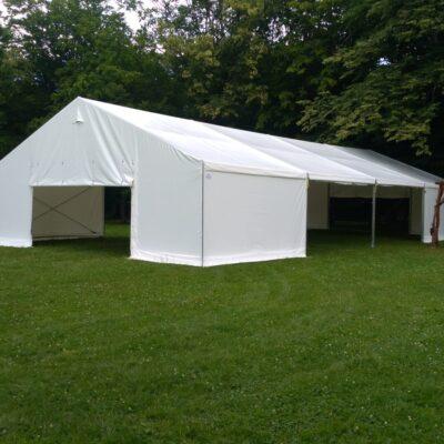 Czy hala namiotowa jest budynkiem?