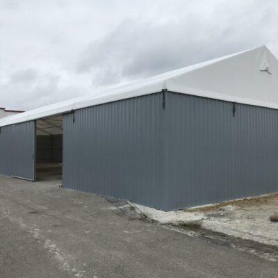 używane hale namiotowe